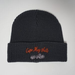 Cape May Salts Rib Knit Beanie Charcoal