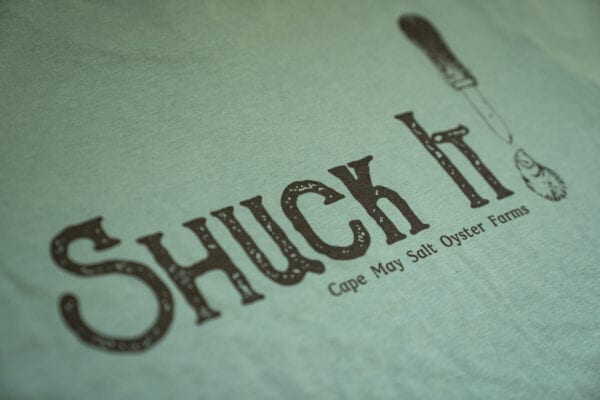 Shuck it shirt back graphic