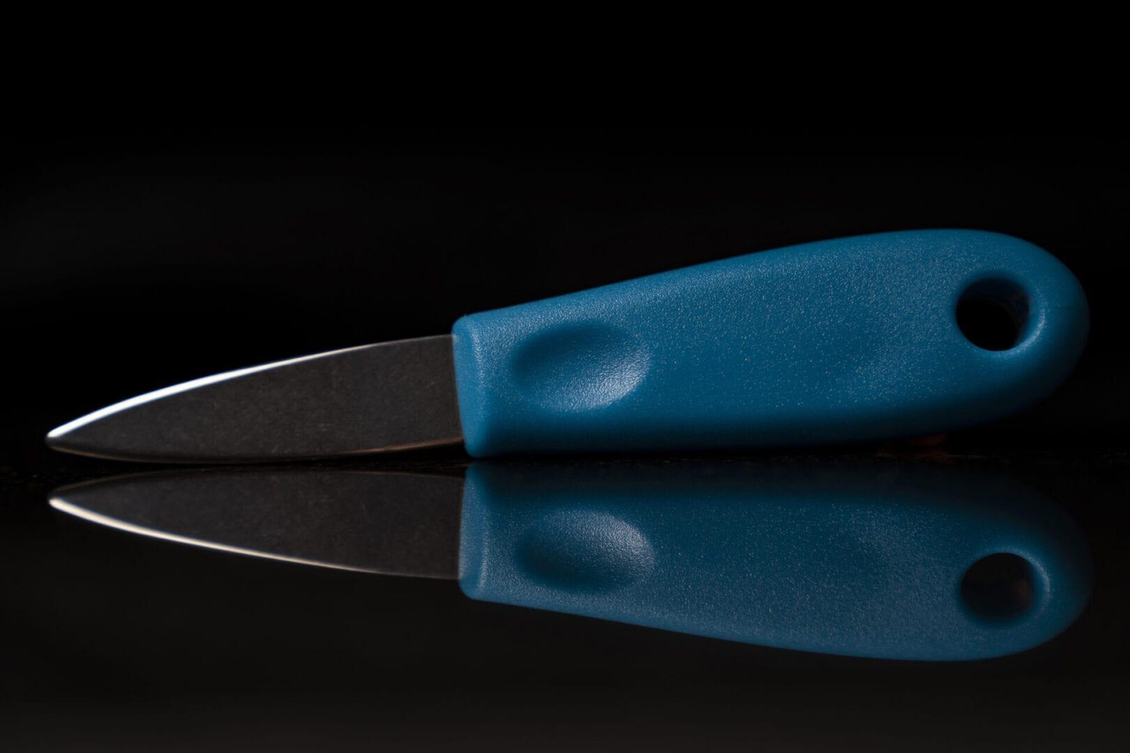 Blue Shucking Knife for Sale